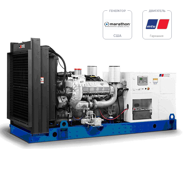 Дизель-генератор MTU DP 650 D5S