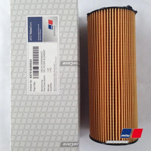 Масляный фильтр MTU X57518300024