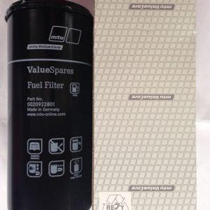 Топливный фильтр MTU 0020922801