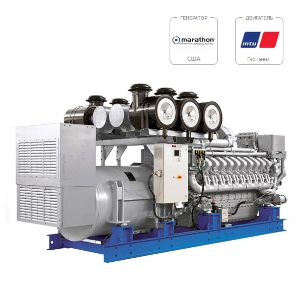 Дизель-генератор MTU DP 2610 D5S