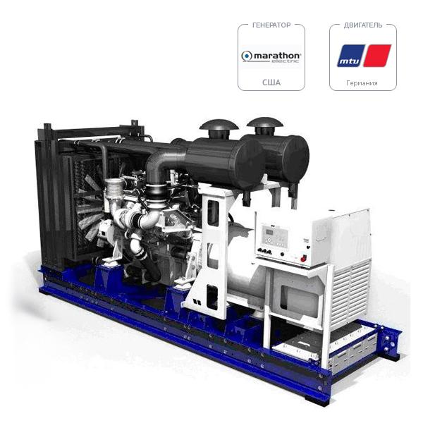 Дизель-генератор MTU DP 800 D5S