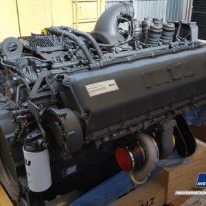 Двигатель MTU 1600 серии