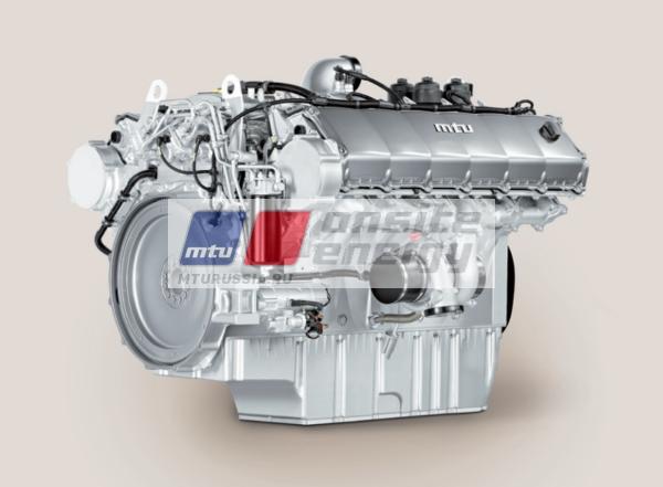 Двигатель MTU 10V1600 G10