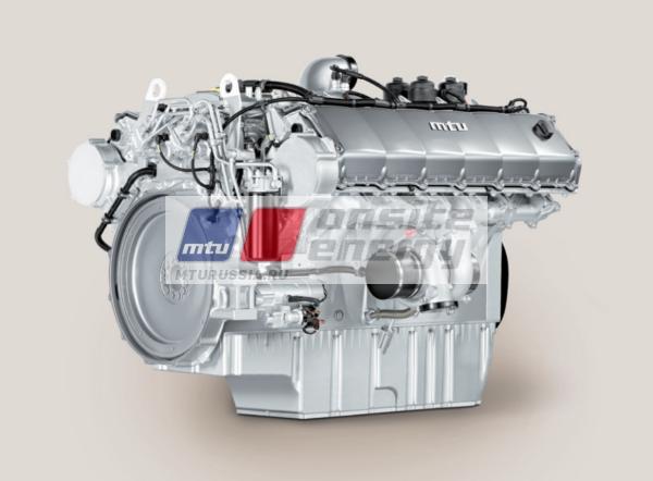 Двигатель MTU 12V1600 G10F