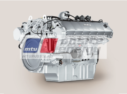 Двигатель MTU 10V1600 G40F