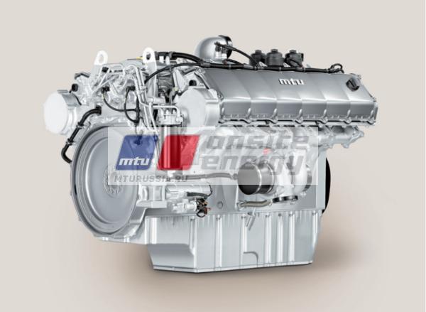 Двигатель MTU 12V1600 G20F