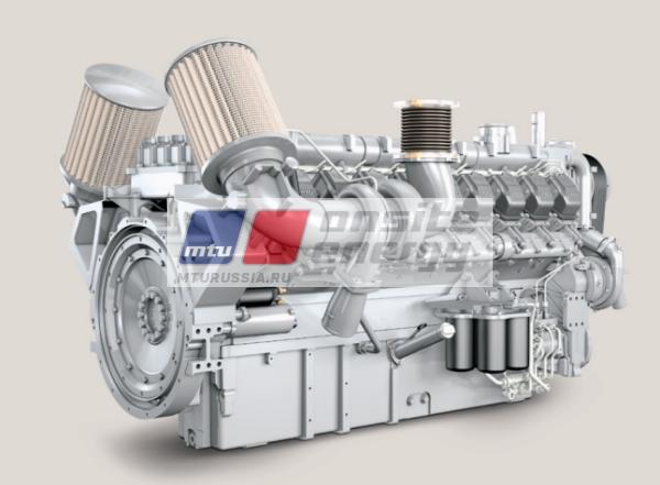 Двигатель MTU 12V2000 G16F