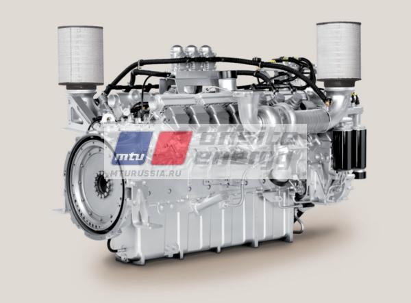 Двигатель MTU 12V2000 G25