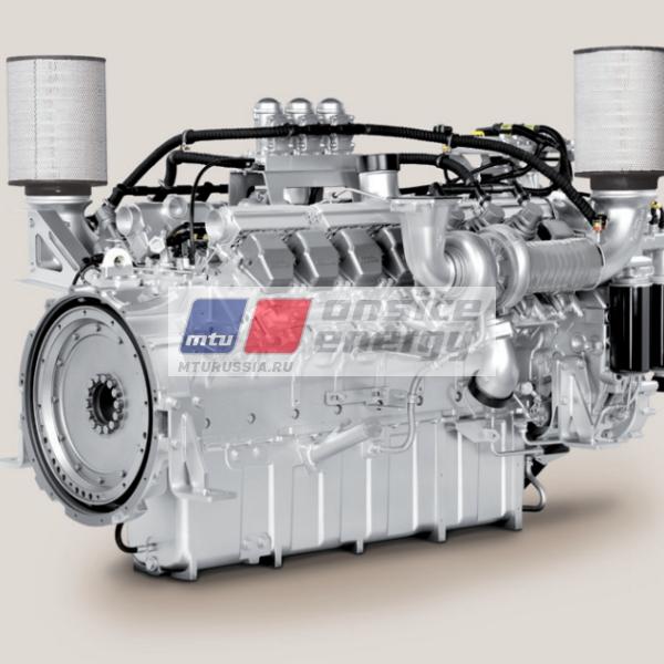 Двигатель MTU 12V2000 G65