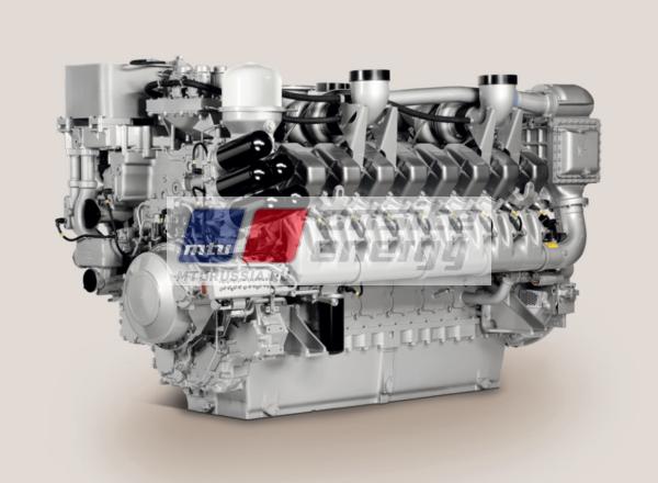 Двигатель MTU 12V4000 G14F