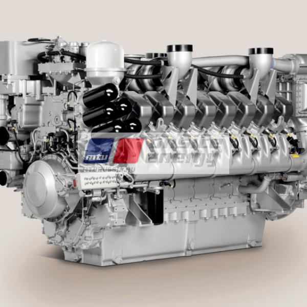 Двигатель MTU 12V4000 G24F