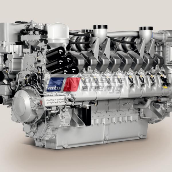 Двигатель MTU 12V4000 G24