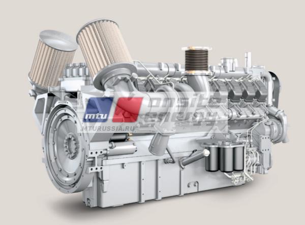Двигатель MTU 16V2000 G16F