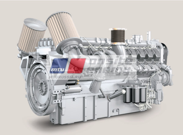 Двигатель MTU 16V2000 G36F