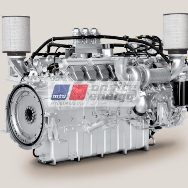 Двигатель MTU 18V2000 G85