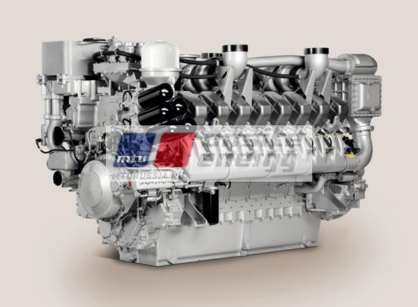 Двигатель MTU 20V4000 G24F