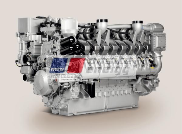 Двигатель MTU 20V4000 G14