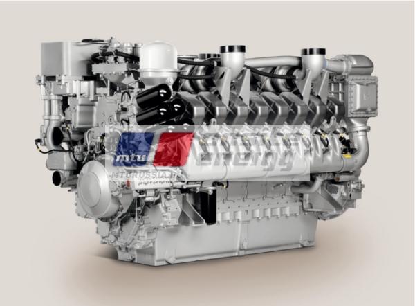Двигатель MTU 20V4000 G44